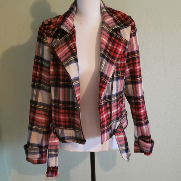 """F21 """"Heritage 1981"""" Collection Plaid Jacket - Med"""